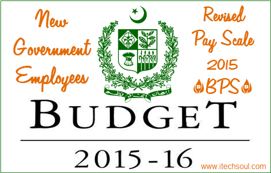 Revised Pay Scale 2015
