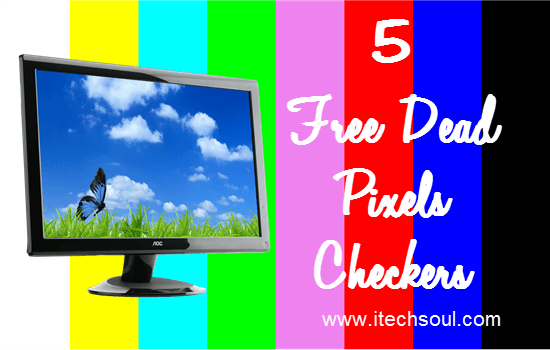 5 Free Dead Pixels Checkers