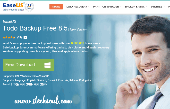 World's most popular free backup software