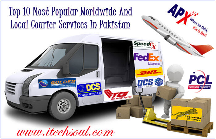 Top 10 Most Popular  Courier Services