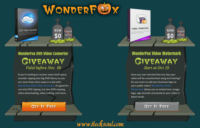 WonderFox Giveaway Freebie Gifts