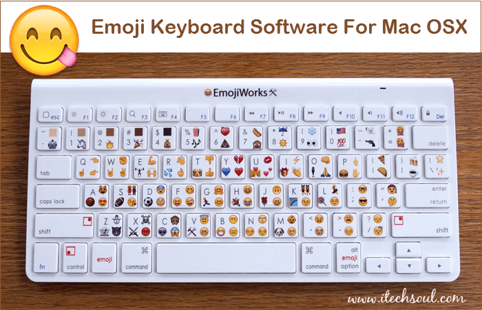 Emoji keyboard for Mac