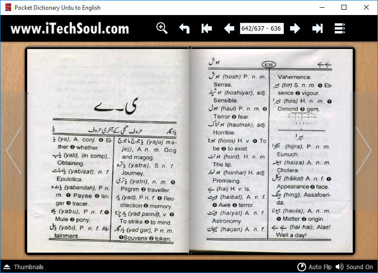 Pocket Dictionary Urdu to English_5