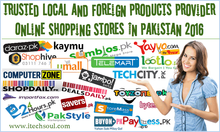 Online Shopping Stores In Pakistan 2016