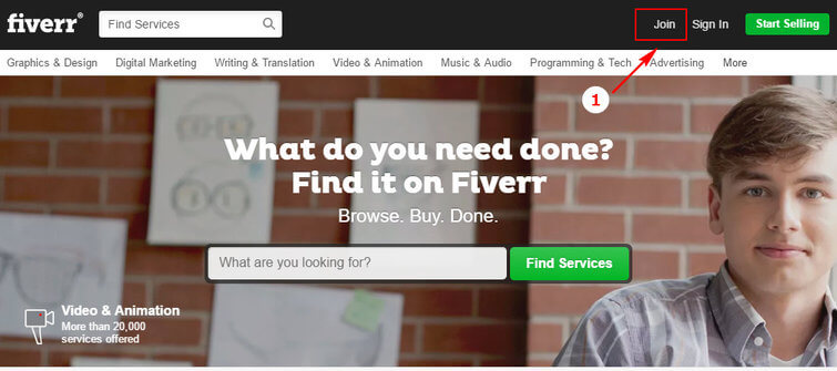 01_Sign Up Fiverr And Earn Big Money