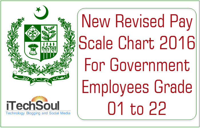 New Revised Pay Scale Chart 2016
