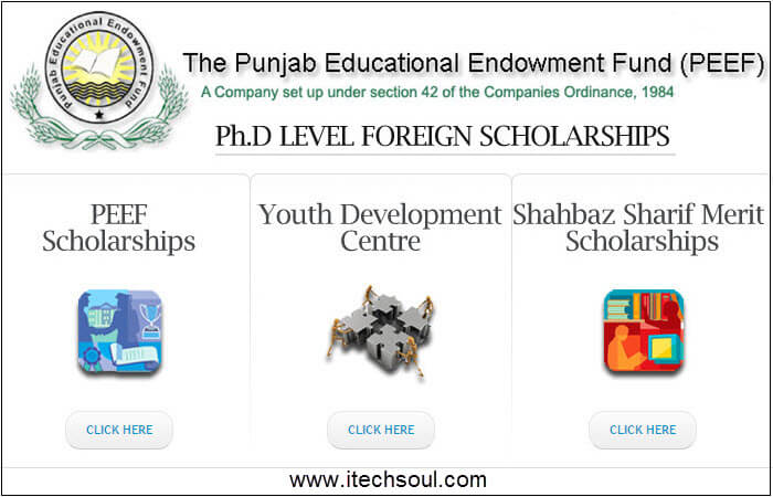 Ph.D Level Foreign Scholarship