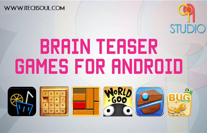 Top 5 Brain Teaser Android Games