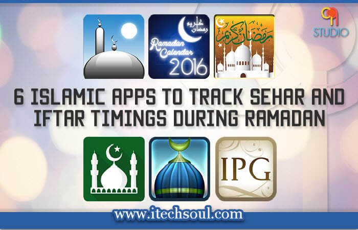 6 Islamic mobile Apps
