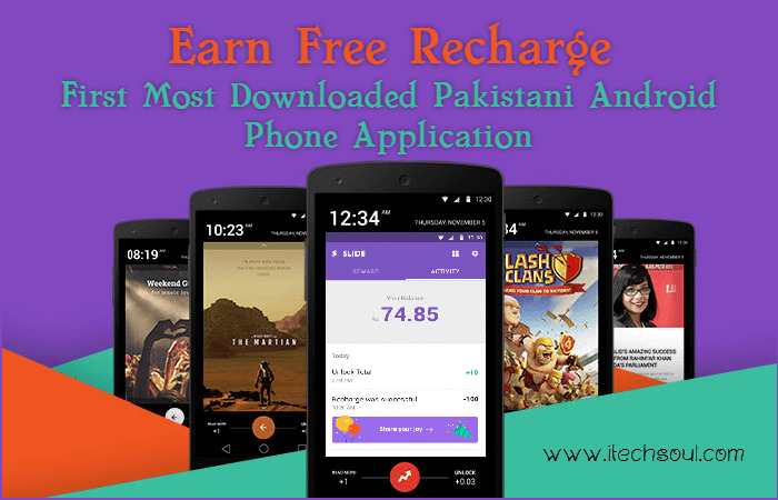 Slide - Earn Free Recharge