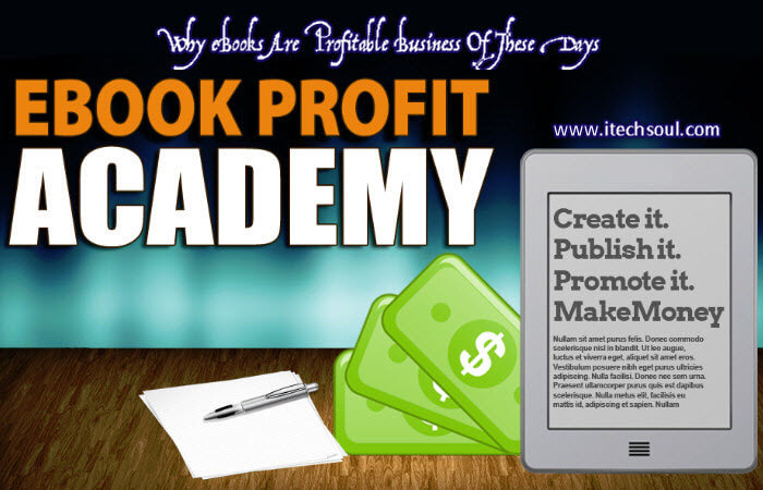 Why eBooks Are Profitable