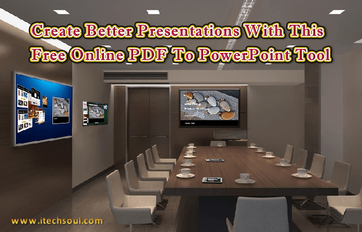 Free online PDF to Powerpoint converter