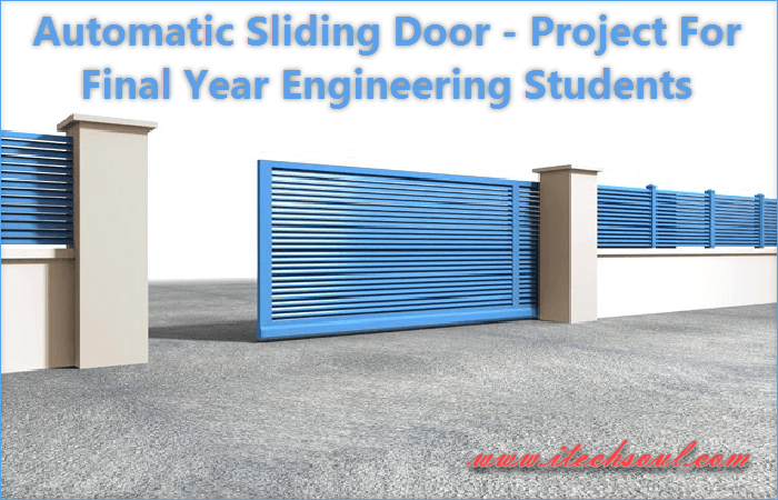 Automatic Sliding Door - Project