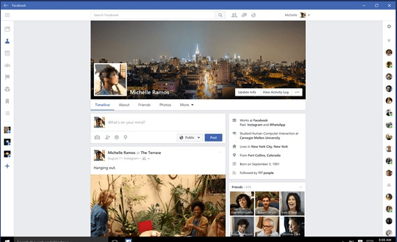Microsoft Ended Old Facebook Application for Windows 10 (2)