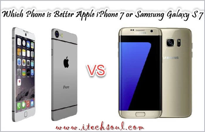 Apple iPhone 7 VS Samsung Galaxy S 7