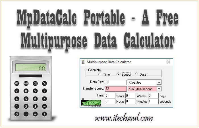 Multipurpose Data Calculator