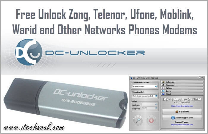 Free Unlock All Networks Phones Modems