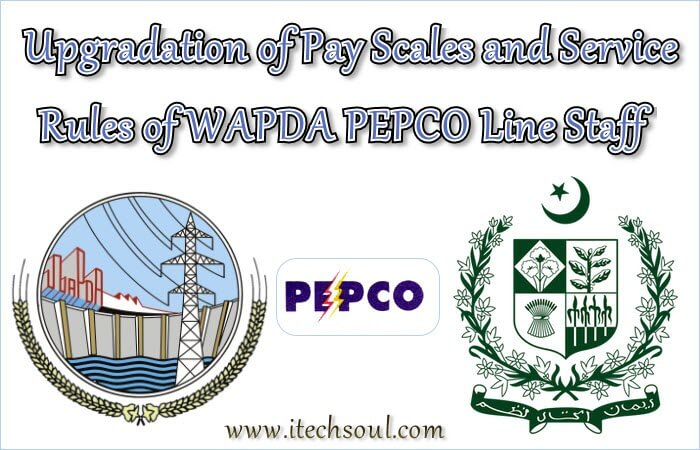 Upgradation WAPDA PEPCO Line Staff