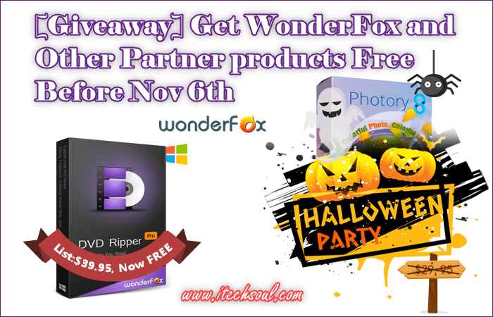 WonderFox Giveaway Before Nov 6th