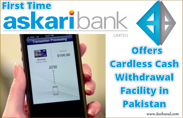 Cardless Cash Withdrawal Facility