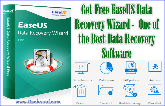 Get Free EaseUS Data Recovery Software