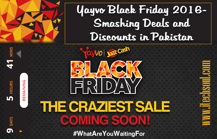 Yayvo Black Friday 2016