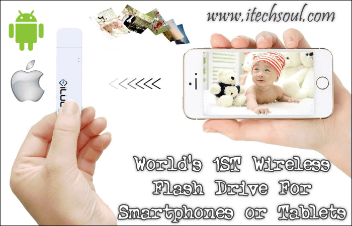 World's 1ST Wireless Flash Drive