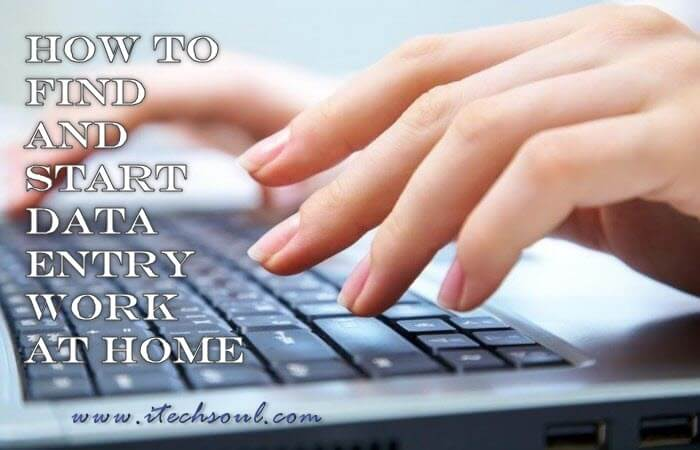 Data Entry Work at Home
