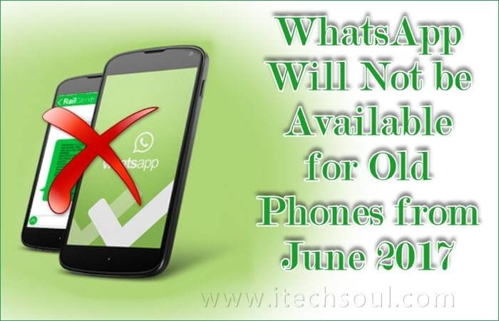WhatsApp unsupported Old Phones