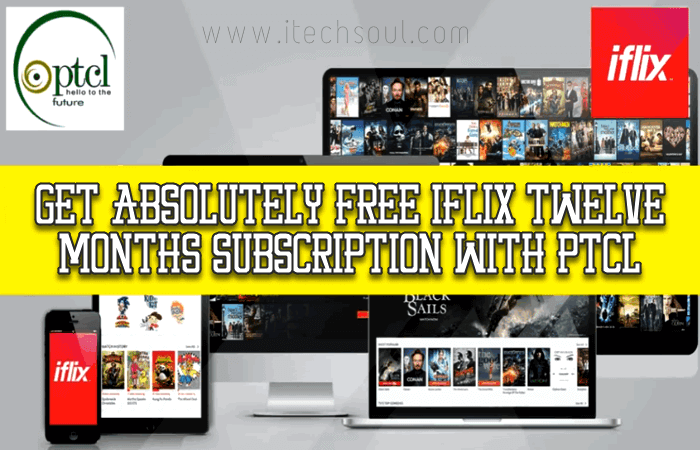 Free iflix Twelve Months Subscription