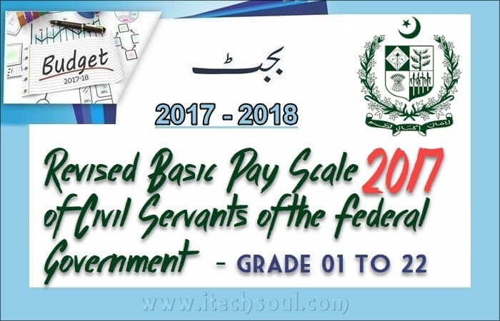 REVISED BASIC PAY SCALE-2017