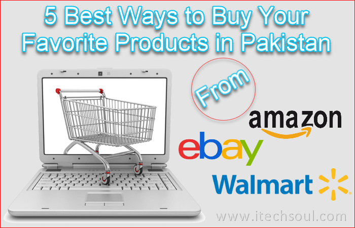 Buy Your Favorite Products From Amazon, eBay and Walmart