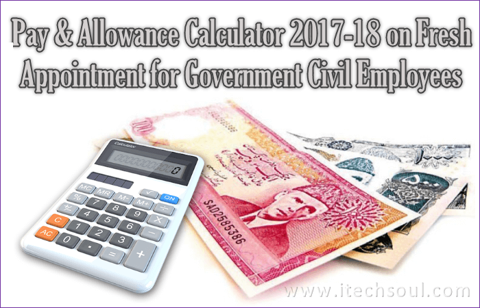 Pay and Allowance Calculator 2017-18 (2)