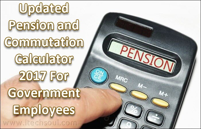 Pension and Commutation Calculator 2017
