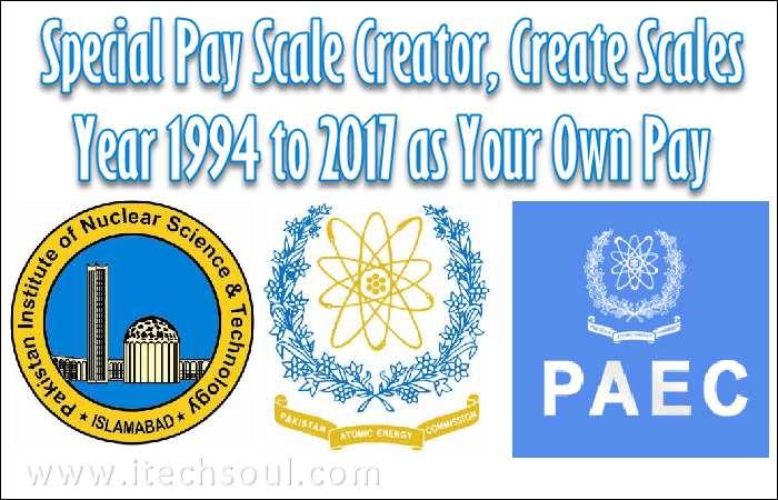 Special Pay Scale Creator