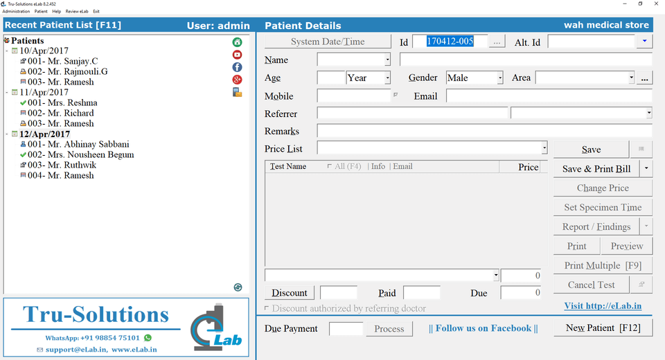 Software for Clinical Labs (2)