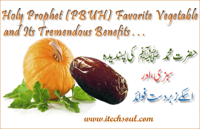 Holy Prophet (PBUH) Favorite Vegetable