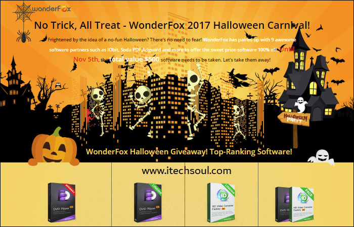 WonderFox Halloween Giveaway 2017