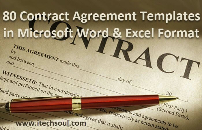 80 Contract Agreement Templates