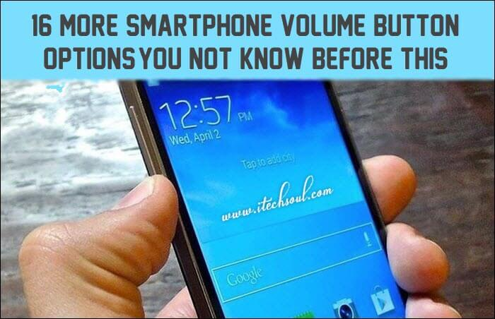 Smartphone Volume Button