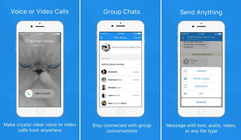 Signal - Private Messenger for iOS devices