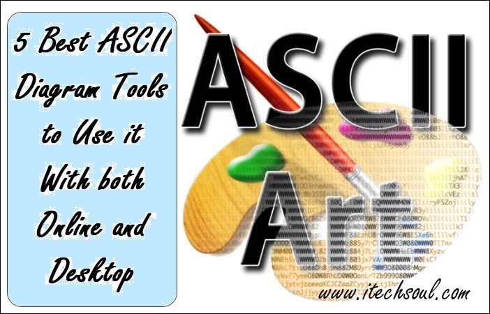 5 best ascii diagram tools to use it with both online and desktop best ascii diagram tools ccuart Choice Image