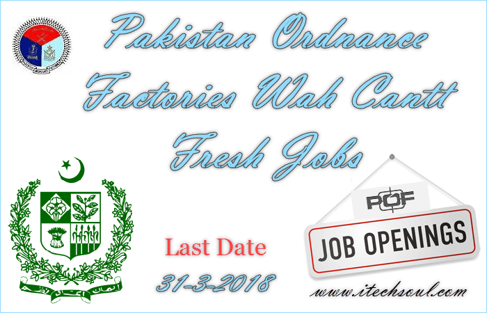 Pakistan-Ordnance-Factories-Fresh-Jobs