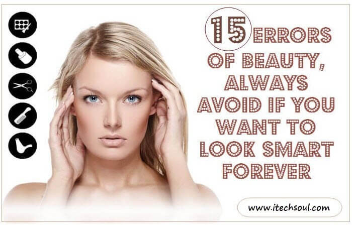 15 ERRORS OF BEAUTY