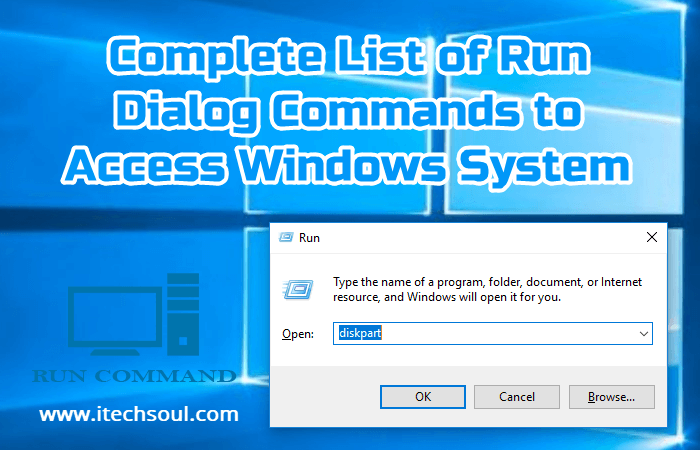 Complete List of Run Dialog Commands