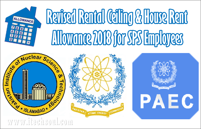 Revised Rental Ceiling & House Rent Allowance 2018 for SPS Employees
