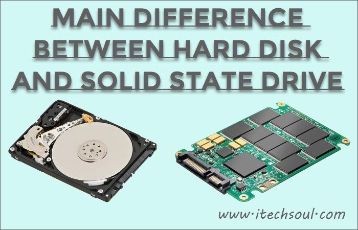 Hard disk VS Solid State Drive