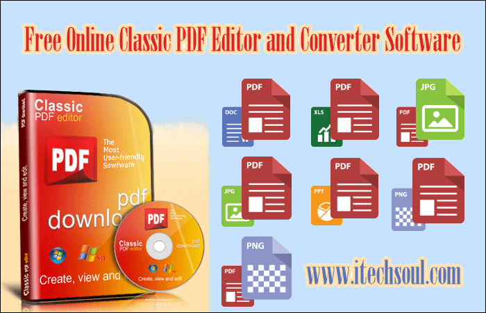 Classic PDF Editor and Converter