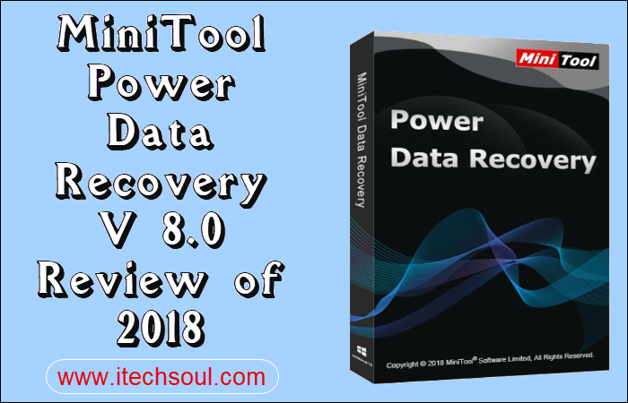 MiniTool Power Data Recovery V 8.0