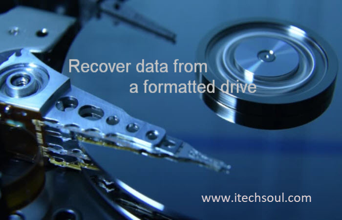 Recover Data from Formatted Drive